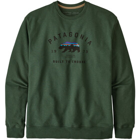 Patagonia Arched Fitz Roy Bear Uprisal Crew Sweatshirt Herre alder green